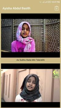 Ayisha Abdul Basith Naats apk screenshot