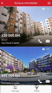 Konouz Immobilier apk screenshot