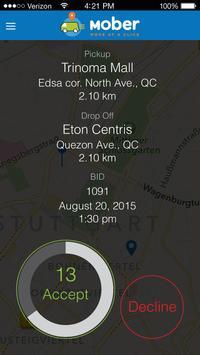 Mober Driver screenshot 1