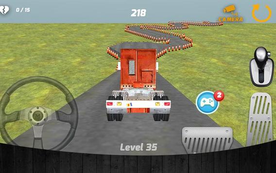 Truck Parking 3D 2015 apk screenshot