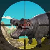 Hippo Animal Hunting Duty icon