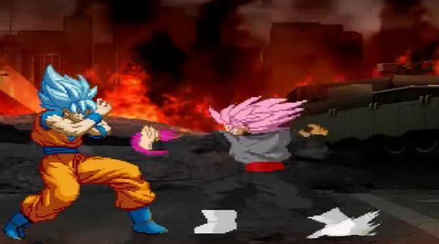 Ultimate MUGEN saiyan battle apk screenshot