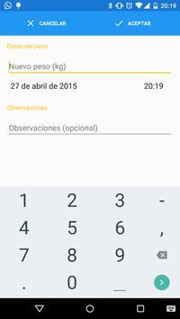 My Weight Tracker apk screenshot