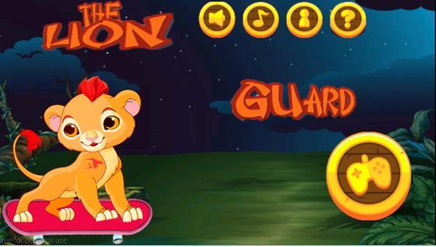 The Lion Jungle Game Guàrd apk screenshot