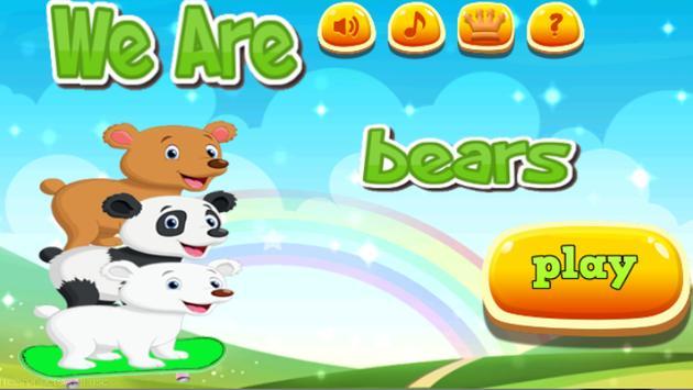 We Are Bears 😻 apk screenshot
