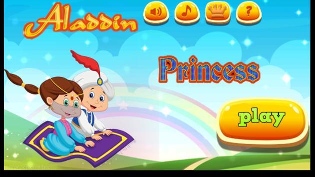 Aladdin and Princess adventure poster