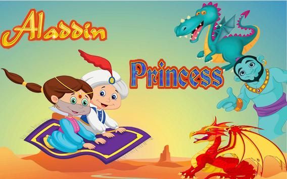 Aladdin and Princess adventure apk screenshot