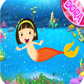 Dora Mermaid game icon