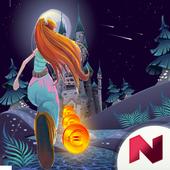 subway girl world castle game icon