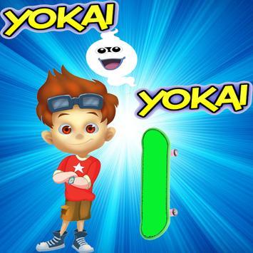 Yokai skate Go poster