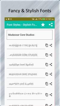 font styles stylish fonts generator apk download free social app