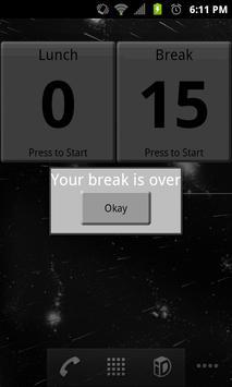 Take A Break Widget screenshot 5