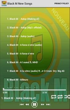 Black M New Songs poster