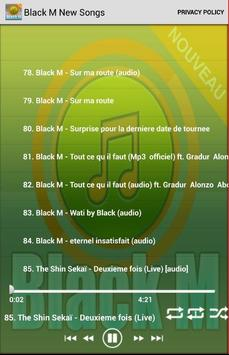 Black M New Songs apk screenshot