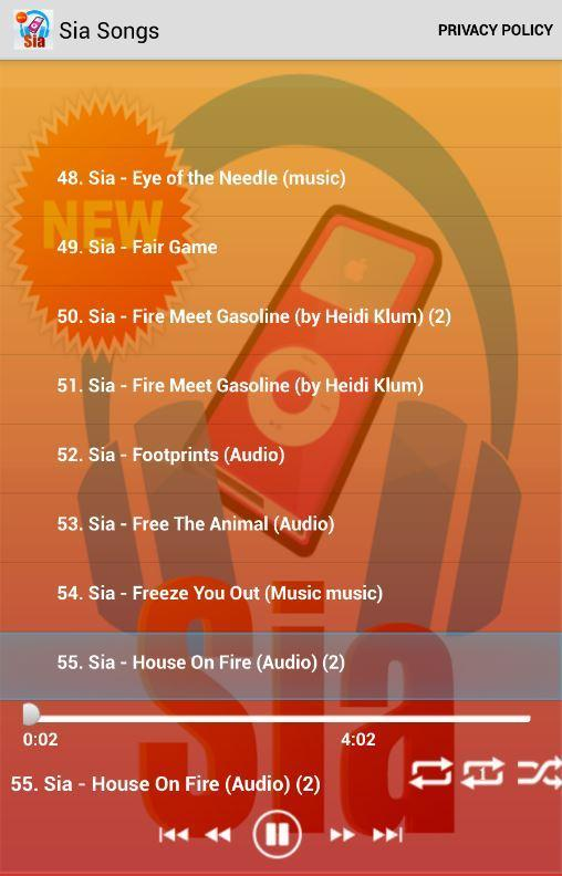 Sia Songs Free for Android - APK Download