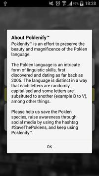 Poklenify apk screenshot