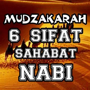 Mudzakarah 6 Sifat Sahabat Nabi Terbaru poster