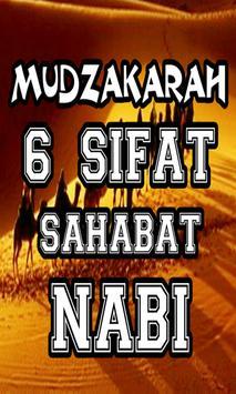 Mudzakarah 6 Sifat Sahabat Nabi Terbaru screenshot 1
