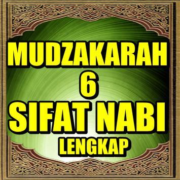 Mudzakarah 6 Sifat Sahabat poster