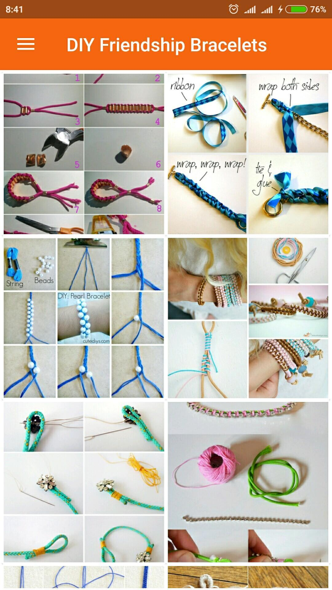Diy Friendship Bracelets For Android