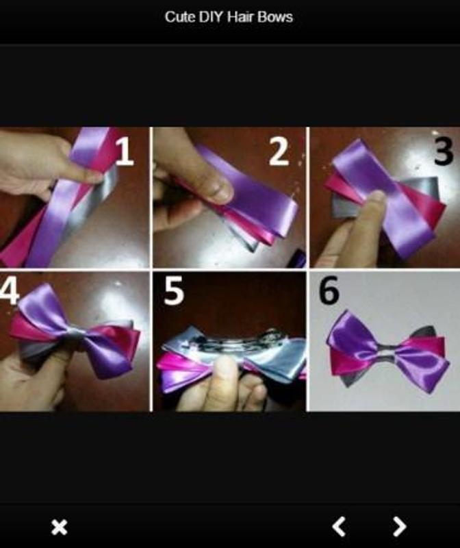 Cute Diy Hair Bows For Android Apk Download