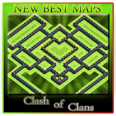 Base Maps of Clash of Clans icon