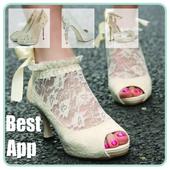 Glamour Wedding Shoes 2016 icon