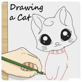 Drawing a Cat icon