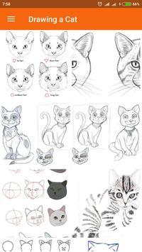 Drawing a Cat apk screenshot