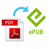 Convert PDF to ePUB icon