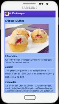 Muffin Rezepte apk screenshot