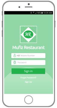 MUFIZ RESTAURANT apk screenshot