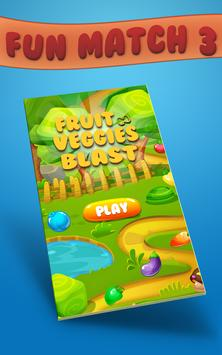 Fruit Veggies Blast poster