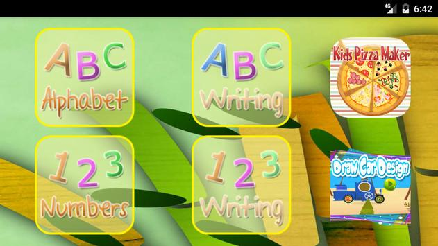 Kids Learn Alphabet & Numbers - Reading & Writing poster