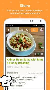 Cookpad apk screenshot