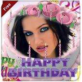 Photo on Birthday Cake – Cake With Photo & Name icon
