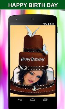 Photo on Birthday Cake – Cake With Photo & Name screenshot 1