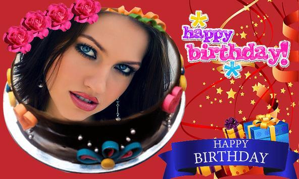 Photo on Birthday Cake – Cake With Photo & Name screenshot 2