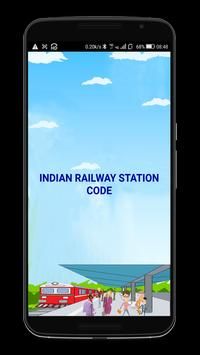 Indian Railway Station Code poster