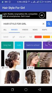 HAIR STYLE FOR GIRLS poster