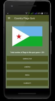 Country Flags Quiz screenshot 1
