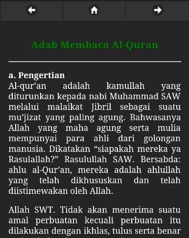 Adab dan Ilmu Membaca Alquran poster