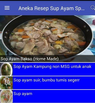 Aneka Resep Sup Ayam Spesial For Android Apk Download
