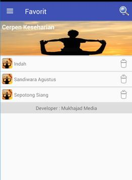 Cerpen Keseharian screenshot 2