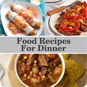 Food Recipes For Dinner icon