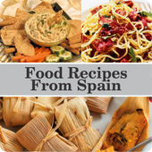 Food Recipes From Spain icon