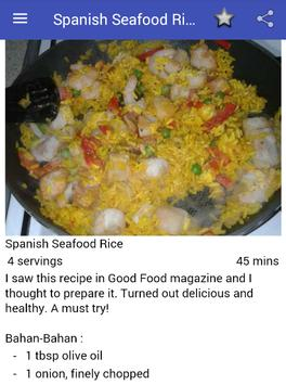 Food Recipes From Spain apk screenshot