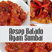 Resep Balado Ayam Sumbar icon