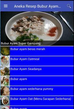 Aneka Resep Bubur Ayam Spesial screenshot 3