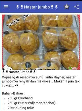 Resep Kue Kering Nastar Lembut screenshot 1